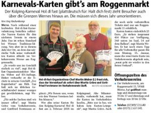 Ruhrnachrichten Werne 14. November 2017