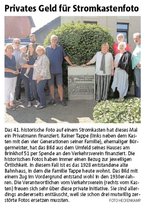 Ruhrnachrichten Ausgabe Werne 22. Juni 2019